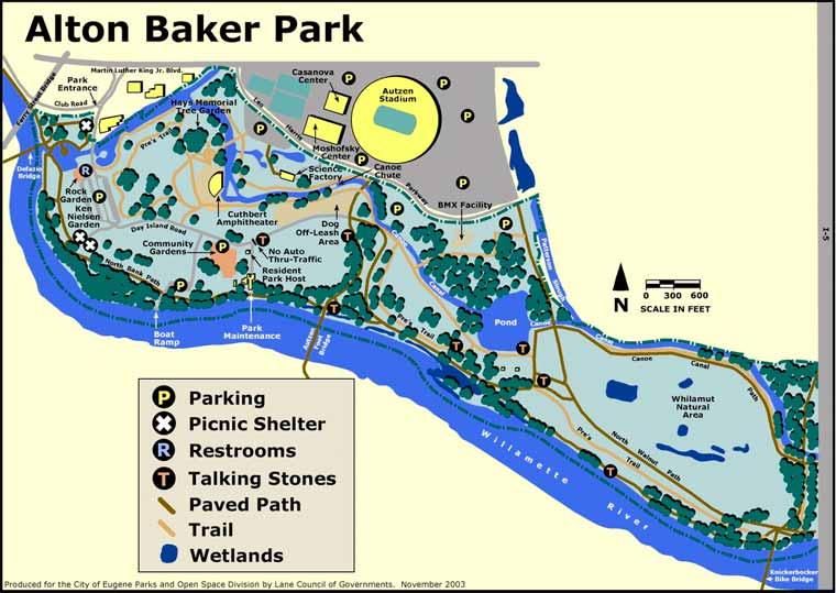 Alton Baker Park Planet Eugene Oregon