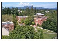 University of Oregon in Eugene